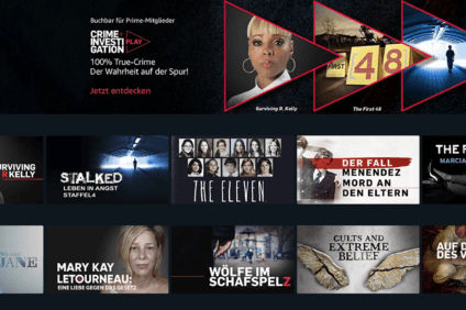 Screenshot: Amazon Prime Video Channel Crime + Investigation Play